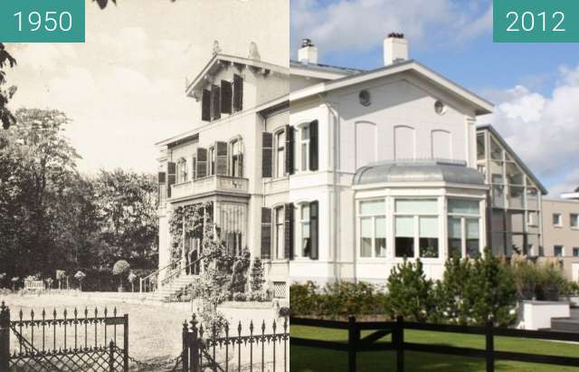 Before-and-after picture of Villa Nuova Alphen aan den Rijn between 1950-Jan-01 and 2012-Sep-29