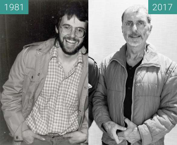 Before-and-after picture of 2 Freunde between 1981-Nov-26 and 2017-Sep-25