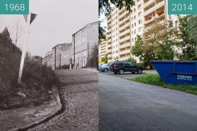 Vorher-Nachher-Bild von Ulica Bonin zwischen 06.08.1968 und 06.08.2014