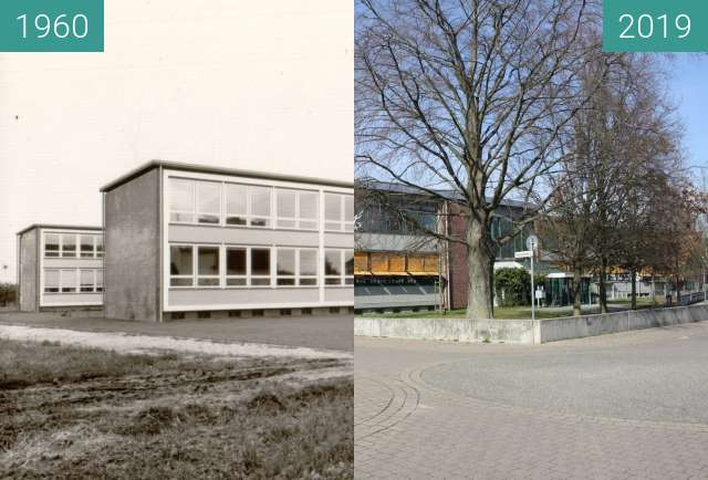 Before-and-after picture of Tullastraße 17. 76744 Maximiliansau between 1960 and 2019-Mar-20