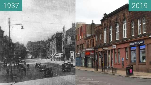 Vorher-Nachher-Bild von Victoria Road zwischen 1937 und 24.03.2019