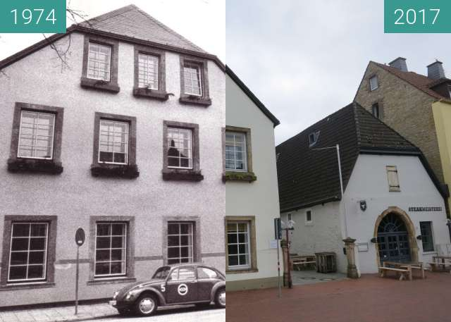 Before-and-after picture of Wach- und Sicherheitsgesellschaft between 1974 and 2017-Jul-29