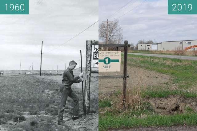 Vorher-Nachher-Bild von Yellowstone Boys & Girls Ranch Sign on 72nd & King zwischen 1960 und 25.04.2019