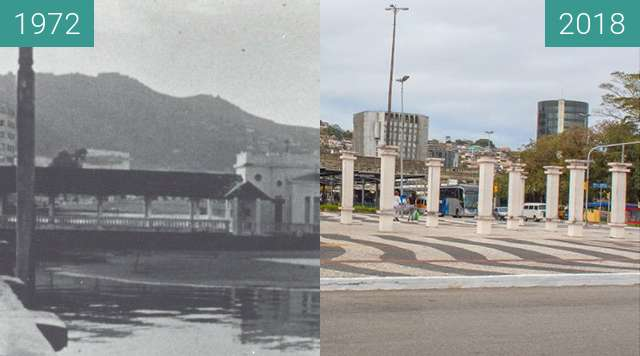 Before-and-after picture of Miramar and Miramar Memorial between 1972 and 2018-Aug-18