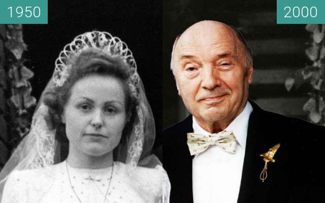 Before-and-after picture of Goldene Hochzeit between 1950-May-05 and 2000-May-05