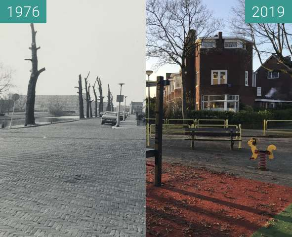 Before-and-after picture of Rippingstraat 1976 - 2019 between 1976 and 2019-Dec-04
