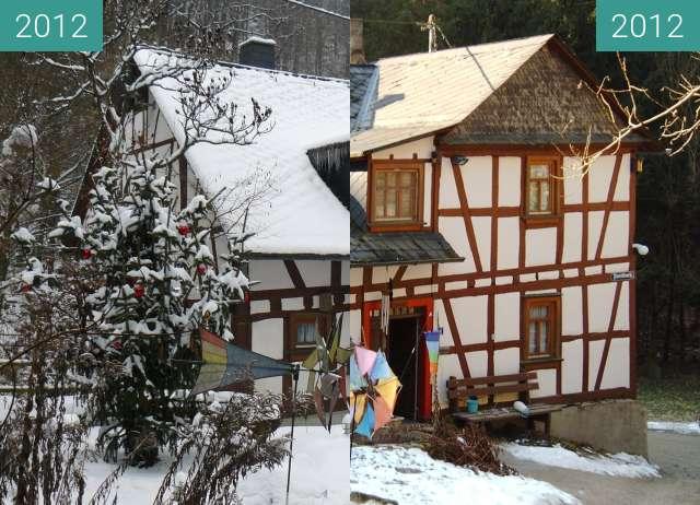 Vorher-Nachher-Bild von Bornsmühle zwischen 12.01.2012 und 01.02.2012