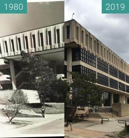 Vorher-Nachher-Bild von KU Rephotography zwischen 1980 und 02.05.2019