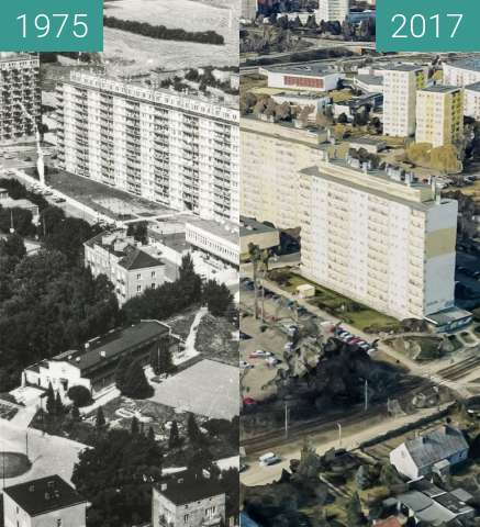 Before-and-after picture of Bonin between 1975 and 2017