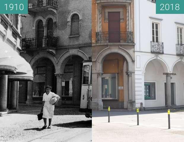 Vorher-Nachher-Bild von TRAM a Mendrisio zwischen 1910 und 01.06.2018