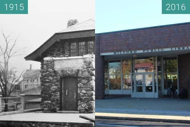 Vorher-Nachher-Bild von American Legion Building zwischen 1915 und 2016