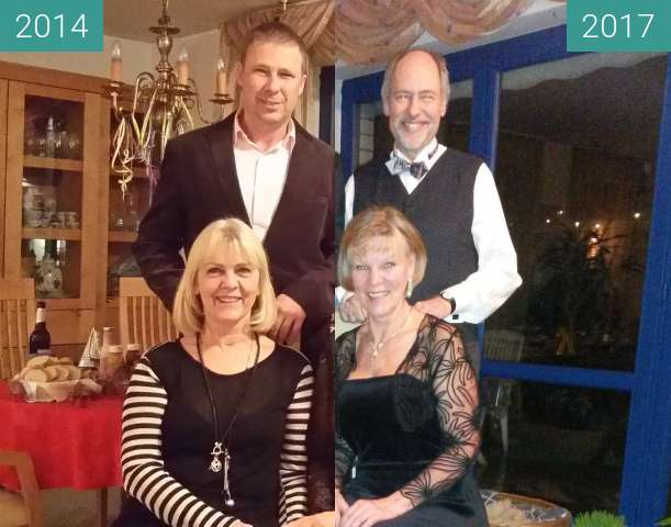 Before-and-after picture of Dinner for Four between 2014-Dec-31 and 2017-Dec-31