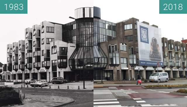 Before-and-after picture of Kwakelhuis between 1983 and 2018-Jan-31
