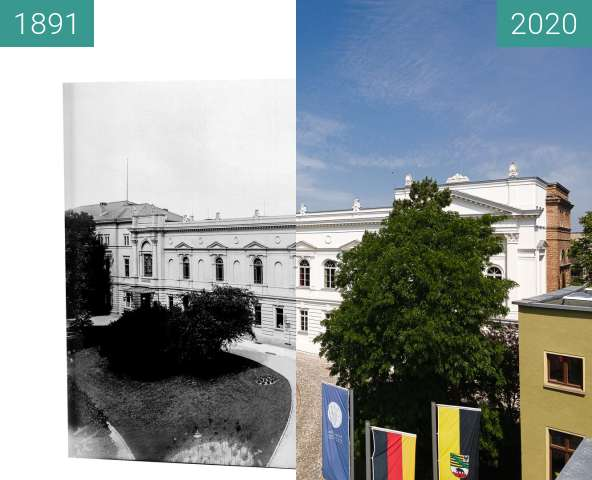 Before-and-after picture of Möll 463 Leopoldina between 1891-Aug-06 and 2020-Jun-13