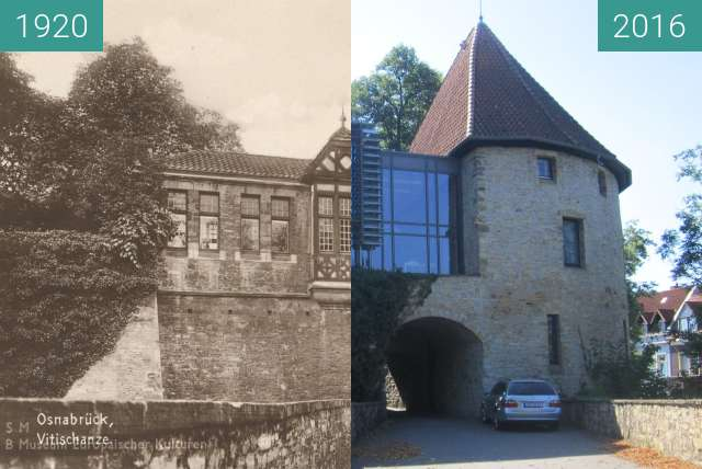 Before-and-after picture of Vitischanze between 1920 and 2016-Aug-31