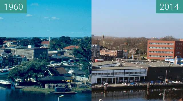 Before-and-after picture of Afgesneden Kanaalvlak between 1960 and 2014-Mar-05