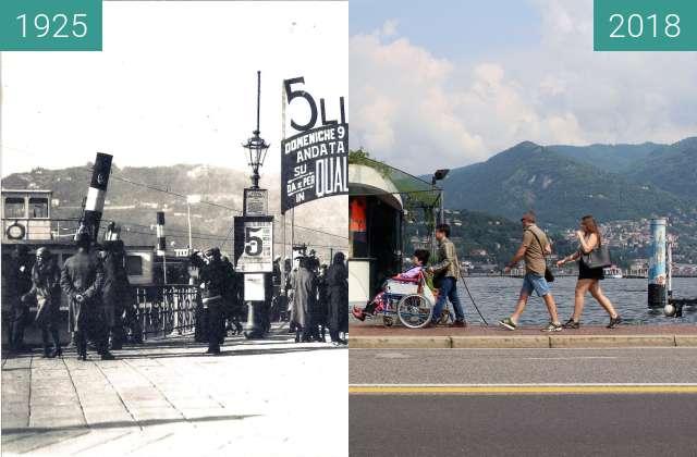 Vorher-Nachher-Bild von Ferry 5 lire zwischen 1925 und 2018