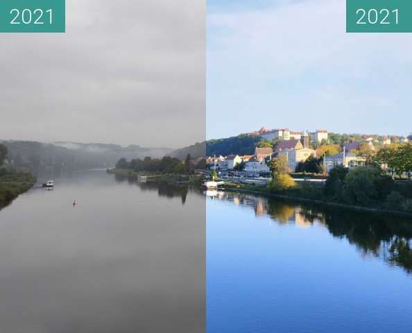 Before-and-after picture of Herbstliches Pirna between 2021-Oct-17 and 2021-Oct-17