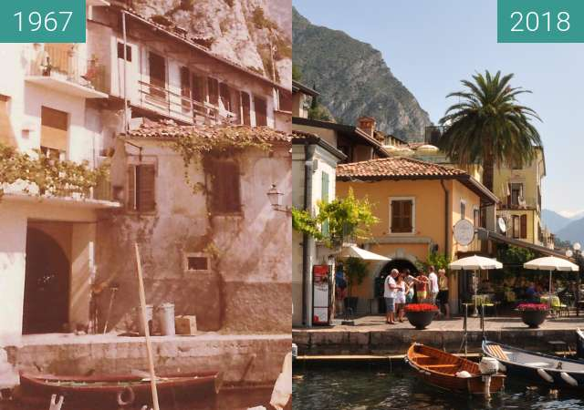 Before-and-after picture of Porto_Vecchio between 1967 and 2018-Jul-13