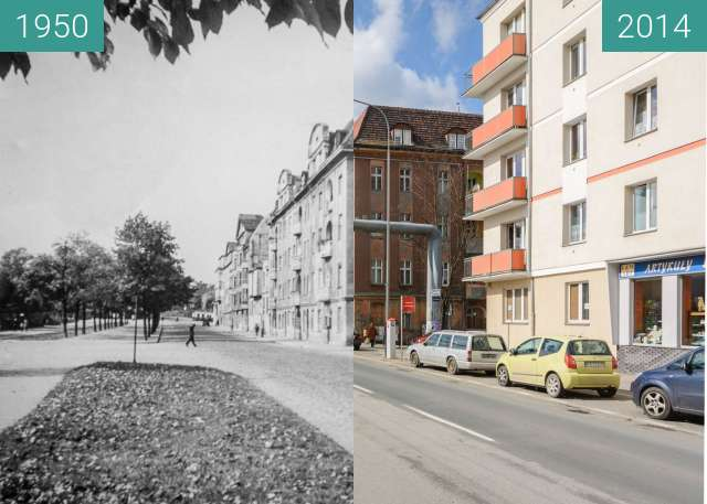Before-and-after picture of kr between 1950 and 2014
