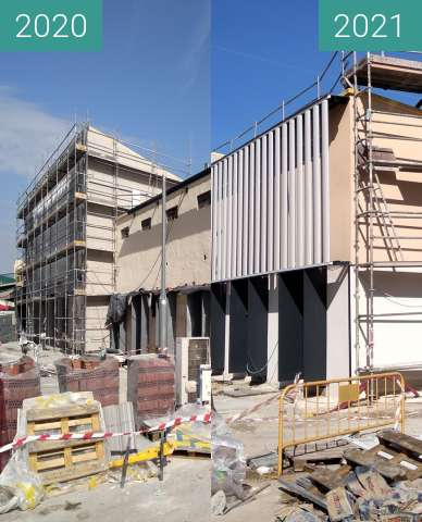Before-and-after picture of cabeza del buey between 2020-Oct-19 and 2021-Feb-15