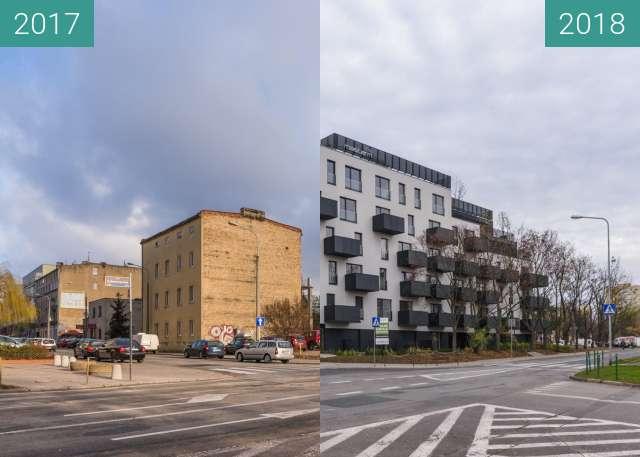 Vorher-Nachher-Bild von Ulica Sokoła / Maczka zwischen 06.01.2017 und 12.11.2018