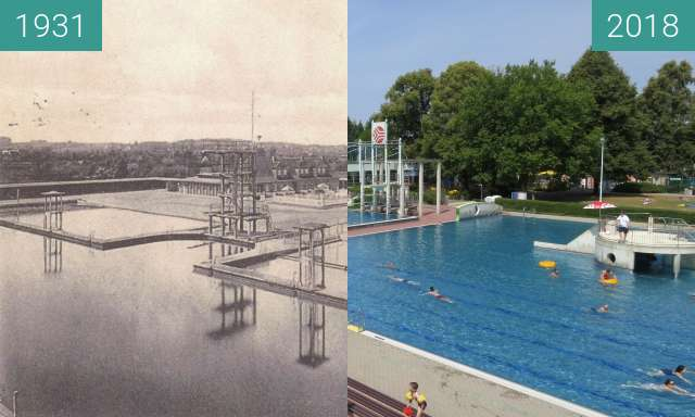 Before-and-after picture of Moskaubad between 1931 and 2018-Jul-04