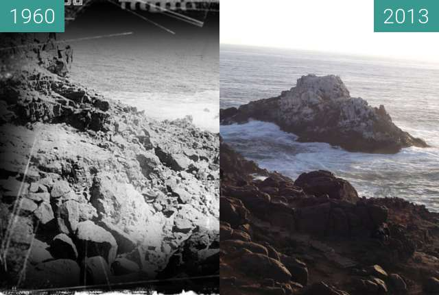 Before-and-after picture of  Parque Puquén La Ligua Región de Valparaíso Chile between 1960-Jan-15 and 2013-Feb-13