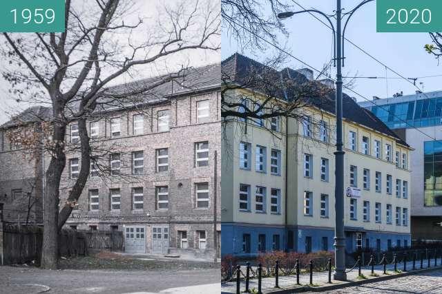 Vorher-Nachher-Bild von Ulica Lewandowskiej zwischen 1959 und 2020