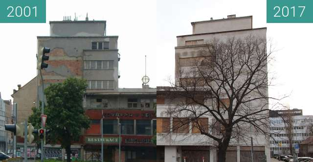 Before-and-after picture of svet between 2001 and 2017-Dec-31