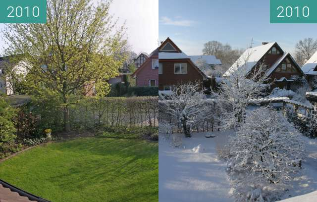 Before-and-after picture of Jahreszeiten between 2010-Apr-18 and 2010-Dec-18