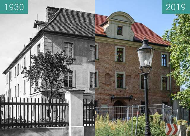 Before-and-after picture of Ulica Lubrańskiego, Akademia Lubrańskiego between 1930 and 2019