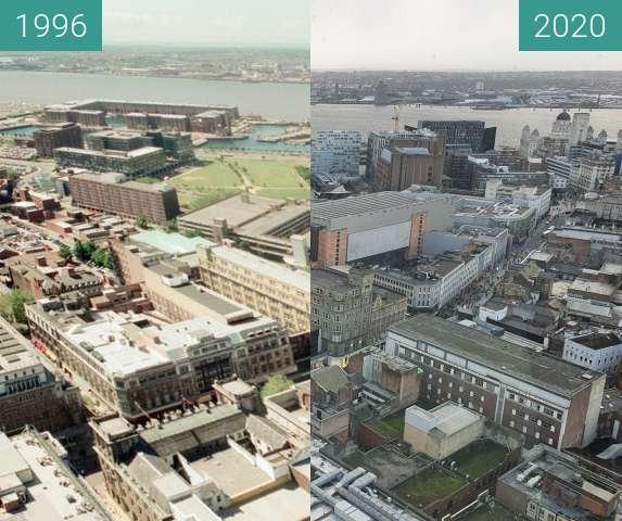 Before-and-after picture of Liverpool 1996-2020 between 1996 and 2020-Feb-29