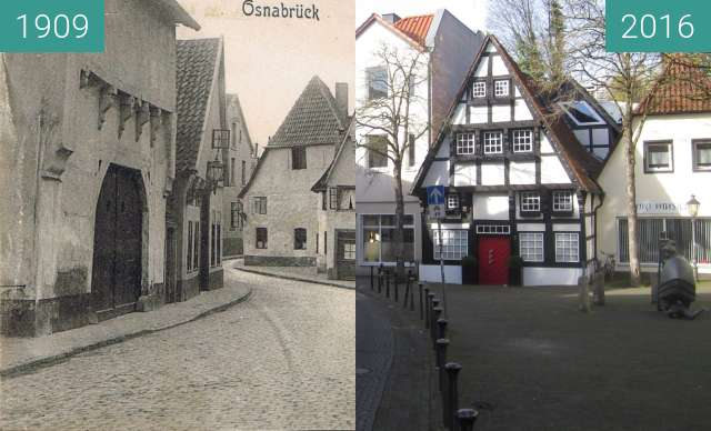 Before-and-after picture of Vitihof between 1909 and 2016-Feb-07