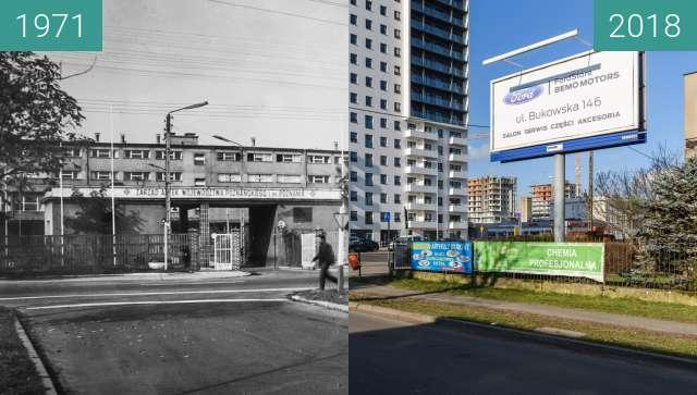 Vorher-Nachher-Bild von Ulica Marszałkowska zwischen 1971 und 02.02.2018