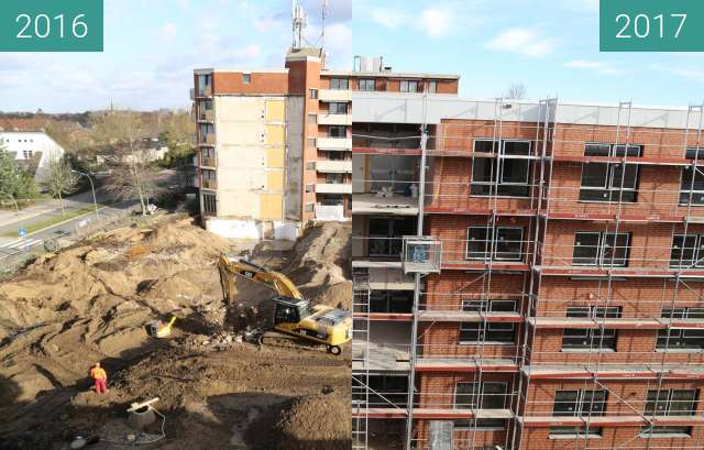 Before-and-after picture of Bischof-Lilje-Heim between 2016-Jan-28 and 2017-Feb-04
