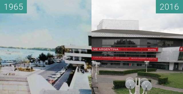 Vorher-Nachher-Bild von Bonn, Oper zwischen 1965 und 17.07.2016