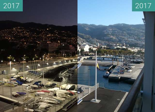 Before-and-after picture of Madeira between 2017-Oct-03 and 2017-Oct-03