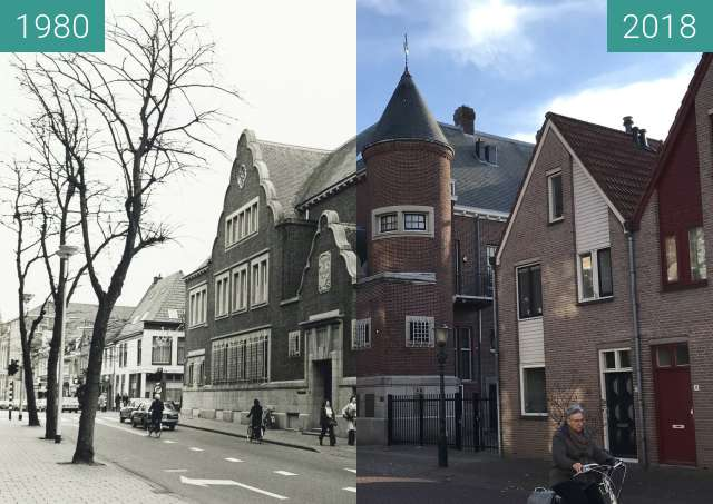 Before-and-after picture of The Dutch Bank between 1980 and 2018-Nov-06