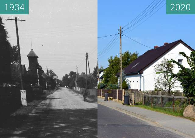Before-and-after picture of Ulica w Sternalicach between 1934 and 2020-Sep-23