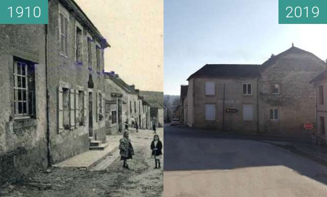 Before-and-after picture of Serzy et Prin - 1910 ? between 1910 and 2019