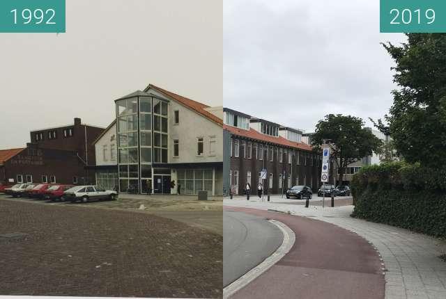 Vorher-Nachher-Bild von Kwakelkade cheese warehouse zwischen 10.03.1992 und 16.07.2019