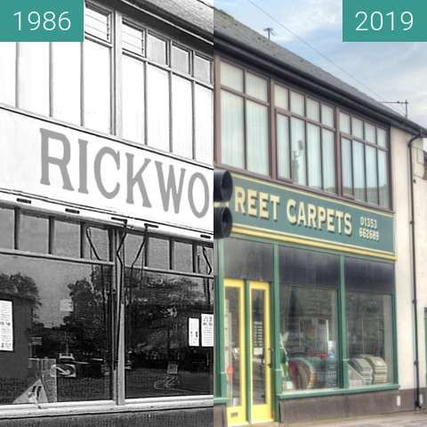 Before-and-after picture of Rickwood & Sons between 1986-Jul-10 and 2019-Jun-20