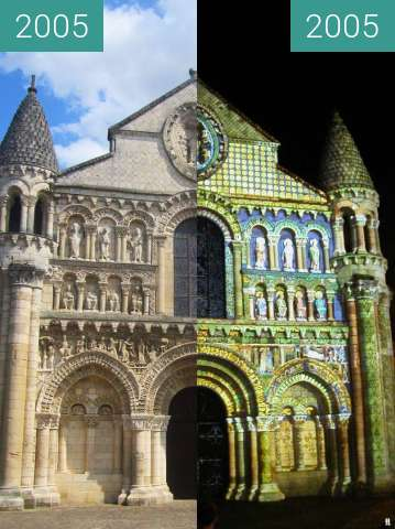 Before-and-after picture of Notre-Dame-de-la-Grande between 2005-Dec-20 and 2005-Dec-20