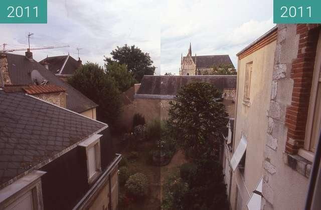 Vorher-Nachher-Bild von View from kitchen window in Orleans zwischen 12.07.2011 und 12.07.2011