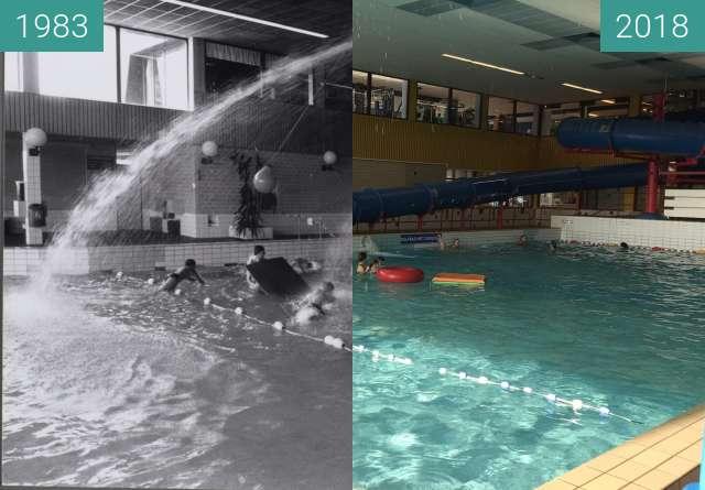Vorher-Nachher-Bild von Pool Hoornse Vaart in Alkmaar zwischen 1983 und 29.03.2018
