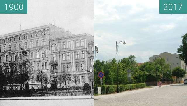 Vorher-Nachher-Bild von Kołłątaja (Wingenstrasse) / Piekarska (Wilhelmspl) zwischen 1900 und 2017