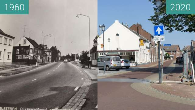 Before-and-after picture of susteren 3 between 1960 and 2020-Sep-19