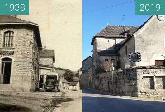 Before-and-after picture of Serzy et Prin - 1938 between 1938 and 2019