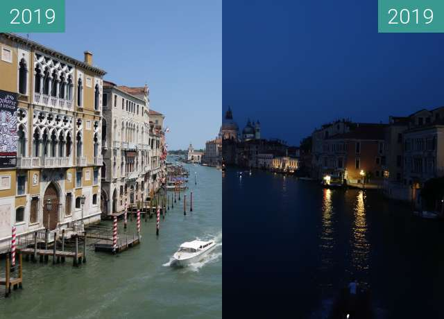 Before-and-after picture of Canal Grande between 2019-Jun-27 and 2019-Jun-27